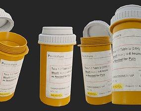 3D asset Painkillers PBR