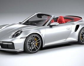 sport 3D Porsche 911 Turbo S Cabrio 2021