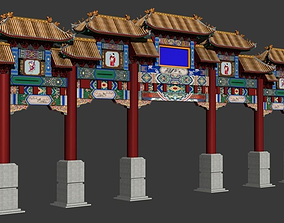 3D ancient chinese tori