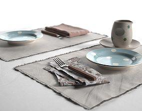 3D Maya Placemats Tableware