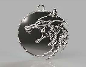 The Witcher medallion 3D printable model