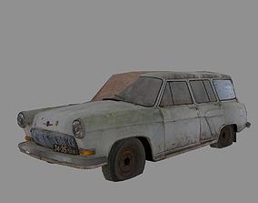 Soviet Vehicle GAZ 22 Volga 3D asset