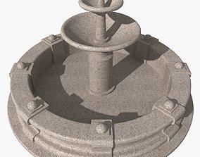 3D model Granite fountain