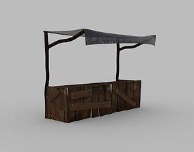 Medieval shop 3D model