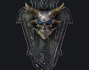 Fantasy shield 3 3d model realtime