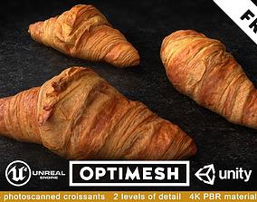 realtime Croissants PBR 3D Pack