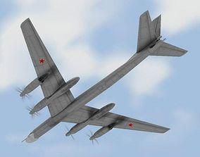3D model TU-95 Bear