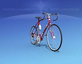3D model Racing Bicycle