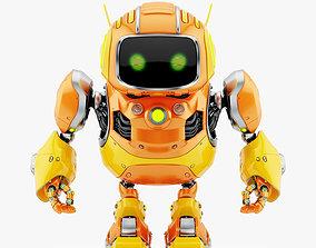 robot HUGE CUTE ROBOT II 3D model