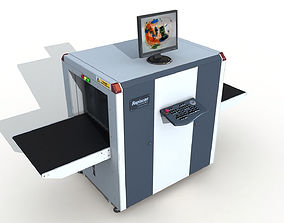 Baggage X-Ray Scanner 3D