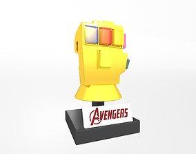 Lego Infinity Gauntlet v4 003 3D asset