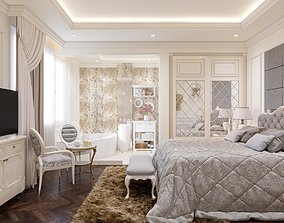 Bedroom classical 3D model