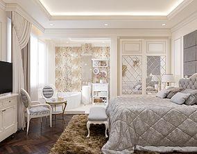 Bedroom classical 3D model