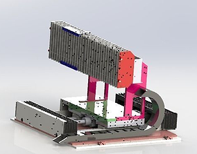 One axis manipulator 3D factory
