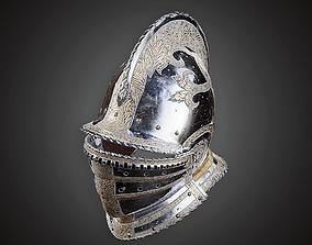 3D asset low-poly Helmet - MVL - PBR Game Ready