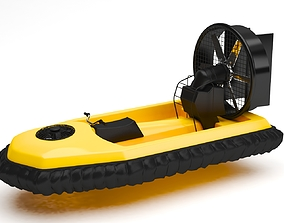 Hover craft 3D model