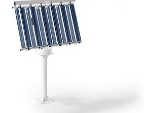 3D model Solar Collector Stand