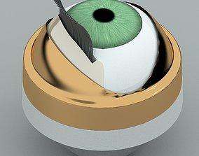 3D Doll eye mechanism