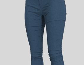 Marvelous Designer Clothes - Female Jean 3D