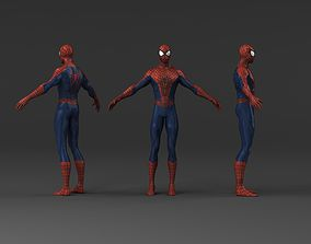 Spider man low poly 3d models HD low-poly