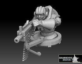 infantry Panzer Buggy Sidegunner 3D printable model