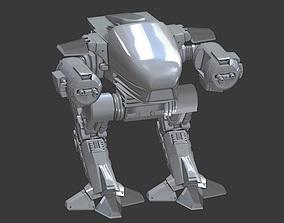 ED 209 3D rigged