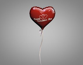 3D Saint Valentine Day Balloon