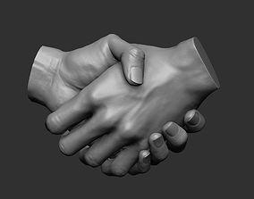 Handshake 3D print model