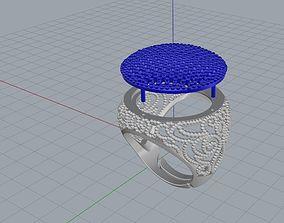 3D print model ANELLO PAVE E FILIGRANA