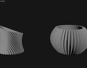 3D Printed Planter Plant Pot Plant Vase 105