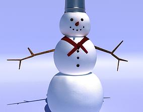 snow 3D Snowman