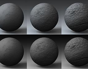 3D Displacement Landscape Shader 075