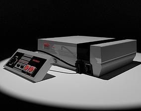 3D model Nintendo NES