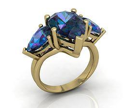 3D printable model jeweller Ring