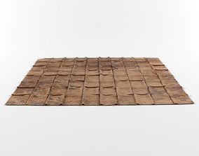 3D model Patchwork leather rug