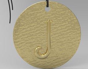 3D print model Alphabet Latin J