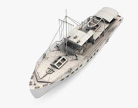 3D model Passenger Boat