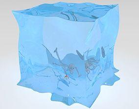 3D gelationous cube