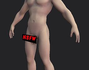 Nsfw Man Basemesh 3D asset