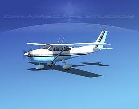 3D model Cessna 182 Skylane V15
