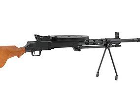 3D model Degtyaryov machine gun