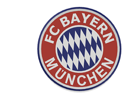 FC Bayern Munich Wall Sign 3D print model