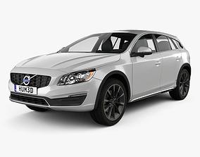 3D Volvo V60 D4 Cross Country 2015