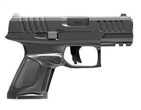 Gun Glock2 3D animated