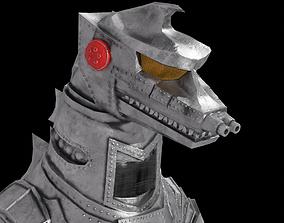 Mechagodzilla Classic Toho 3D model rigged