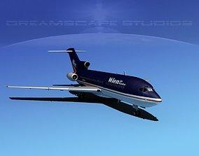 Boeing 727-100 Wien Air Alaska 3D