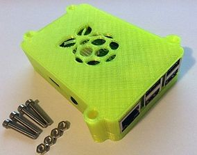 Safe and secure Raspberry Pi 3 B-plus Case 3D print model