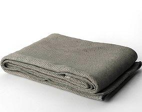Towel Set 17 grey 3D model