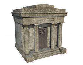 Mausoleum 2 PBR 3D asset