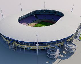 Stade Olympique de Rades - Tunisia 3D asset